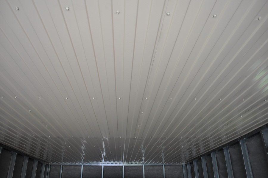 Потолок в гараже своими руками