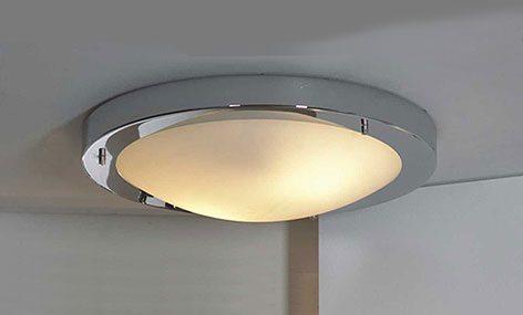 Использование светильников без плафонов правила