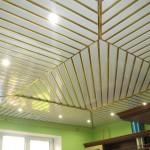 ластиковый реечный потолок