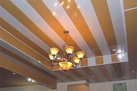 Дизайн потолка кухни из пвх