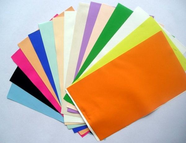 Пленка бывает самых разных цветов