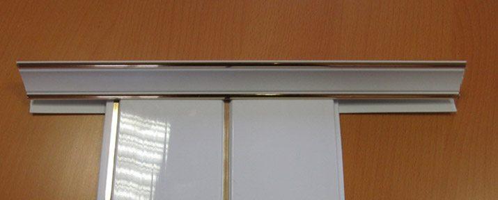 Плинтус потолочный для панелей ПВХ