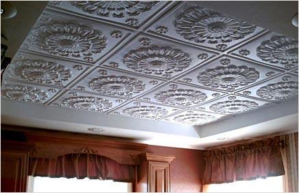 Клеевой потолок