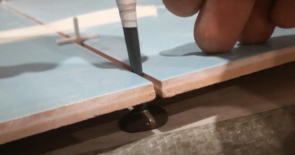 Рабочие хитрости при укладке плитки