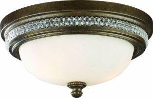 Накладной круглый потолочный светильник