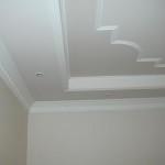 Побеленый потолок из гипсокартона