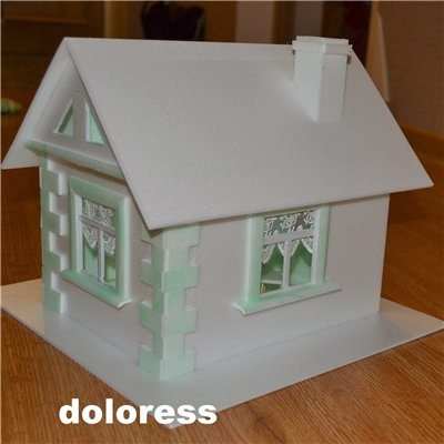 Сказочные домики из картона своими руками