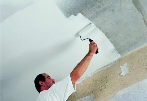 Подготовка поверхности к росписи.