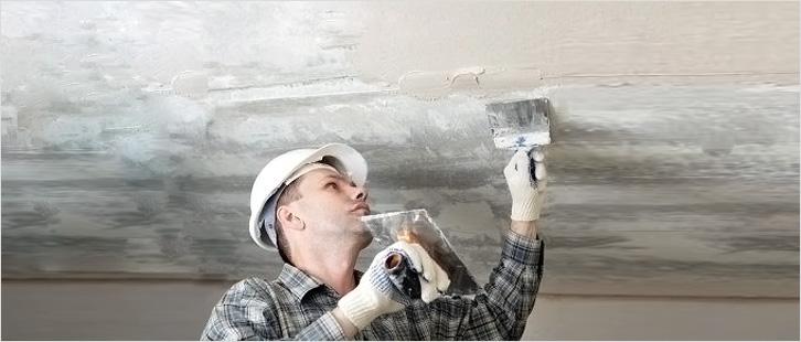 Подготовка потолка под потолочную плитку