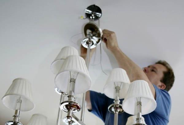 Подключение светильника своими руками