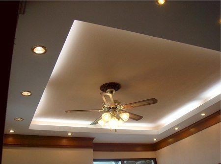 Комплексная подсветка подвесного потолка
