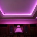 Подсветка потолка кухни