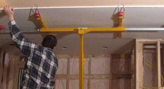 Обустройство подвесного потолк