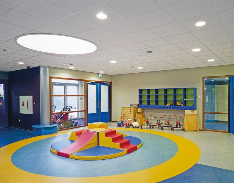 Потолки Байкал благодаря своей экологичности могут использоваться даже в детских садах