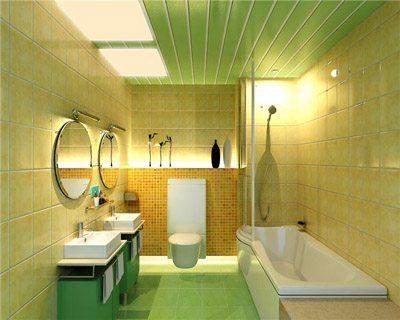 Основной показатель для применения панелей ПВХ в ванной - стойкость к любым химически активным элементам.