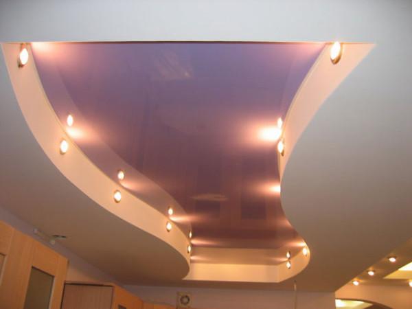 Подвесные потолки многоуровневые способны предать эксклюзивность вашему помещению.