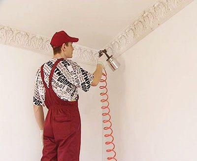 Каким валиком красить потолок, как подготовить его поверхность под покраску и другие вопросы ремонта