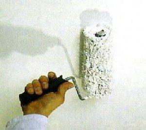 Окраска потолка из гипсокартона