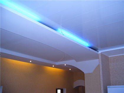 Скрытая подсветка люминесцентными лампами