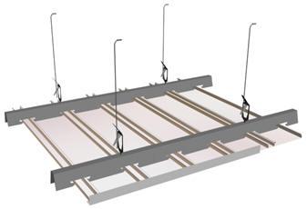Схема конструкции потолка