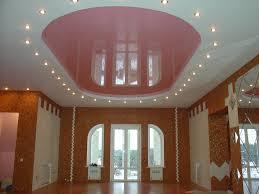 Натяжной комбинированный потолок