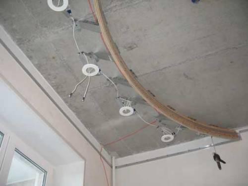 Электрические кабели и арматура светильников