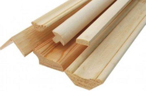 Деревянные профили для декоративной отделки