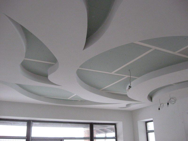 Подвесной потолок по технологии Тиги-Кнауф.