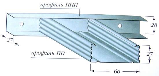 Профиль для подвесных кухонных потолков