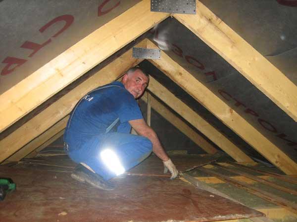 Потолок своими руками в частном доме видео