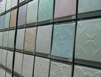 Ассортиментный ряд потолочной плитки