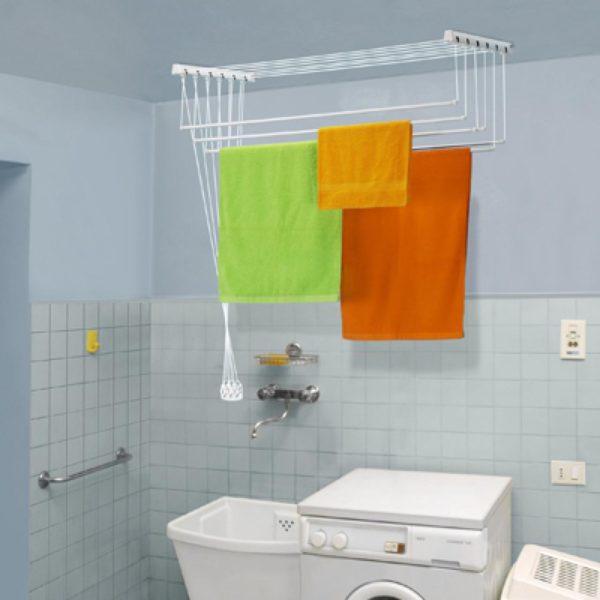 Потолочная сушилка для ванной комнаты