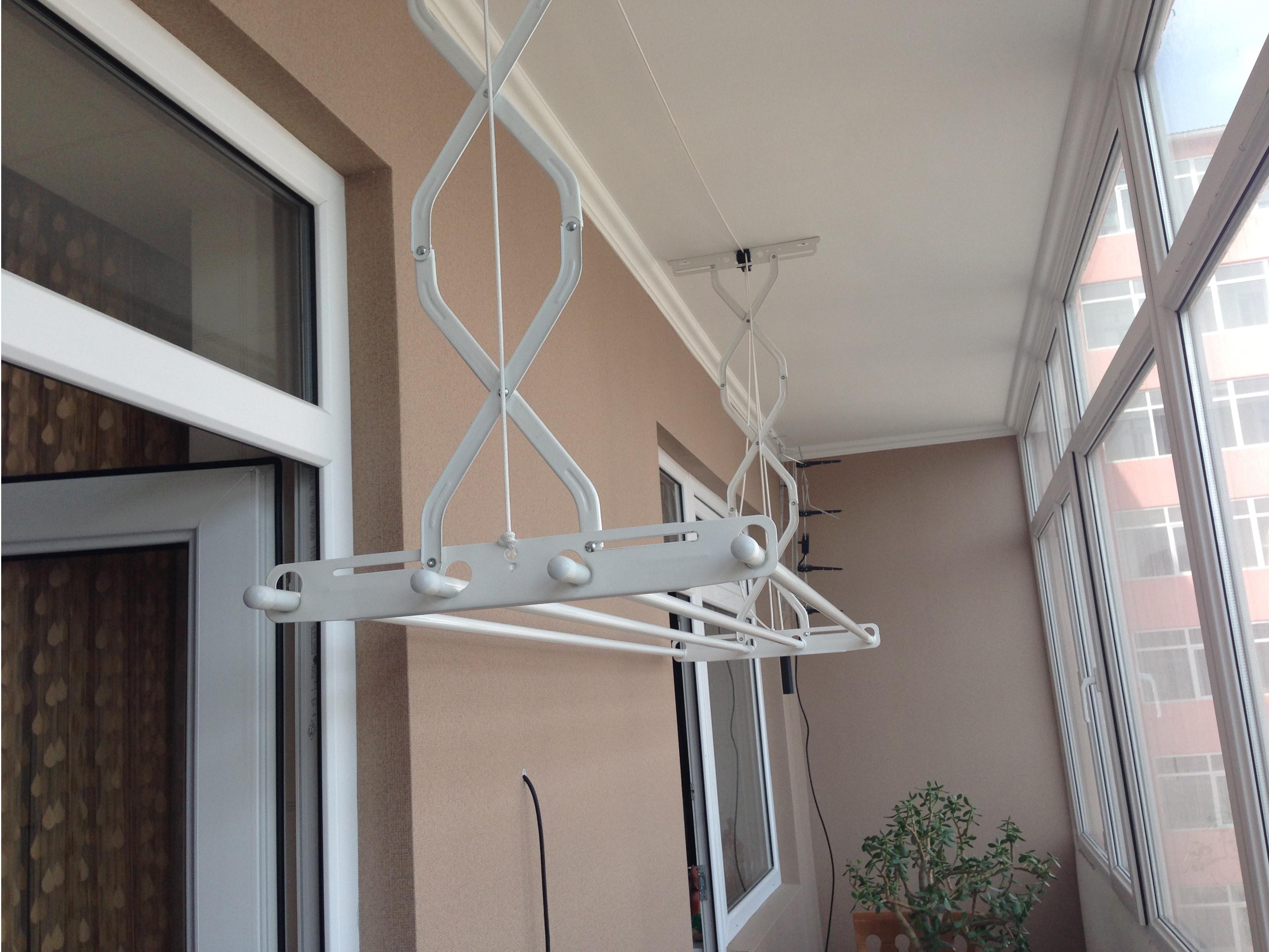Балконный потолочная раздвижная сушилка для белья купить..