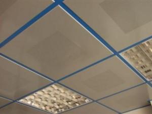 Подвесной потолок. Демонтаж.