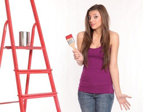 С чего начать при покраске потолка?