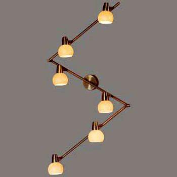 Такому светильнику можно придать наиболее оптимальную форму для равномерного освещения пространства