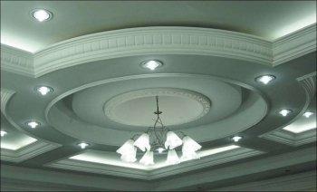 Полиуретановый купол в подвесном потолке