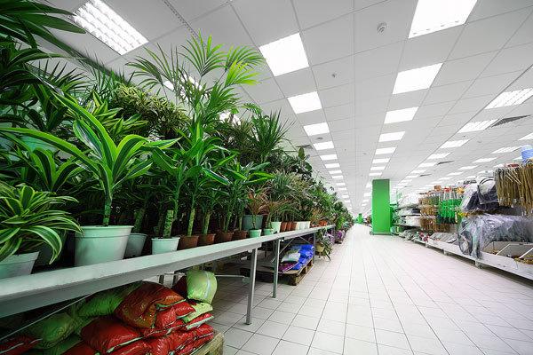 Потолочные светодиодные светильники: яркий свет и максимум экономии
