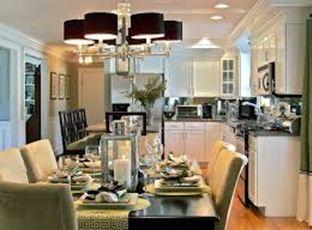 Хорошо продуманное освещение кухни