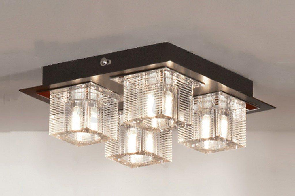 Точечные потолочные светильники накладные