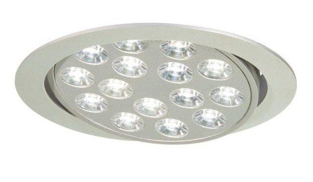 Холодный белый свет точечного светодиодного светильника для потолка максимально схож с естественным дневным светом