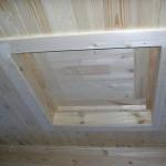 Потолочный люк на чердак