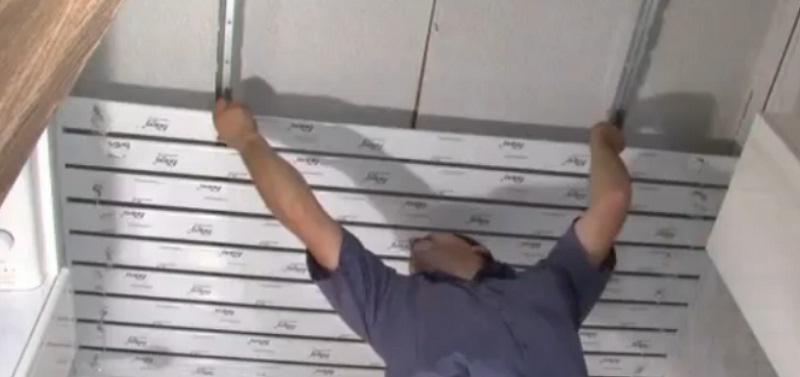 Сборка потолка