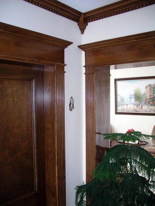 Простой элемент отделки может стать украшением комнаты