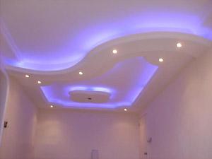 Грамотная подсветка – неотъемлемый атрибут современного стильного потолка