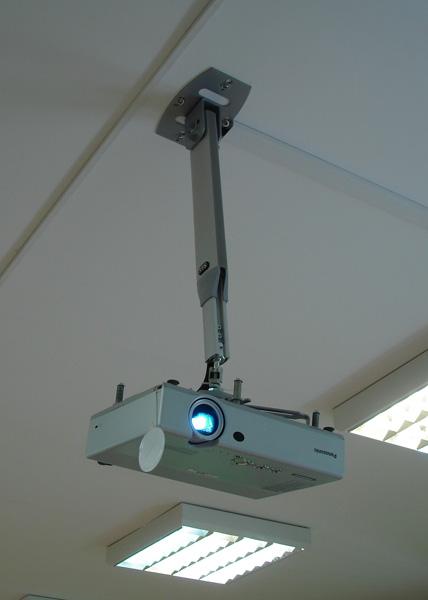 Потолочное крепление проектора своими руками