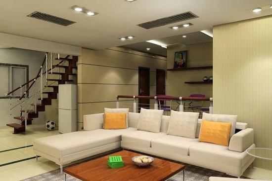 Современное освещение жилого помещения.