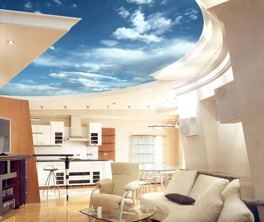 Потолок 3d – за гранью реальности