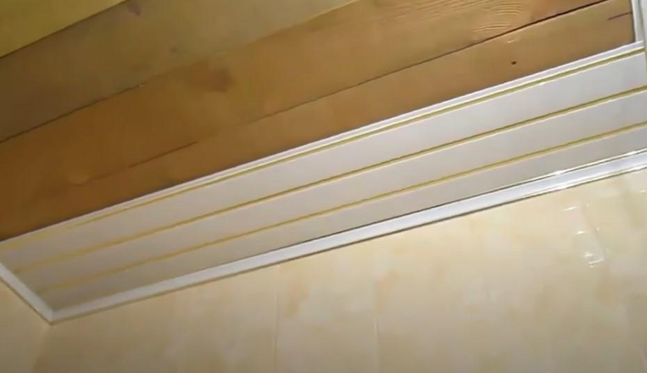 Потолок в ванной за 15 минут своими руками