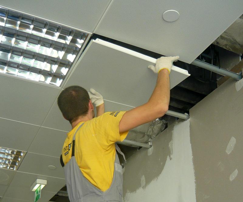 Как сделать потолок армстронг своими руками фото